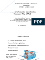 induction motor starting parameters