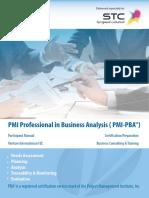 PMI-PBA Course Manual (Printing)