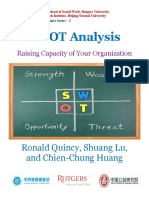 SWOT Analysis Raising Capacity of Your Organization