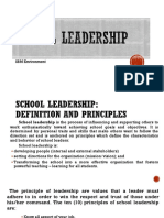 School Leadership