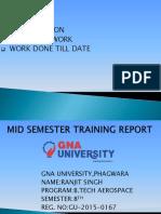Mid Sem Report