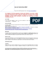 JDHU 2016 Modele Et Guidelines