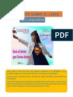 2ª Tutoría Sobre El Lema