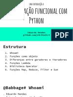 Python.funcional