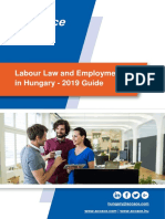 Labour Law and Employment in Hungary – 2019 Guide