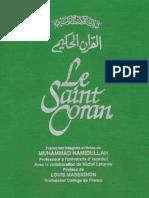 Saint Coran Hamidullah Preface Massignon