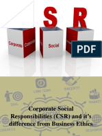 Corporate Social Responsibilities CSR and Its