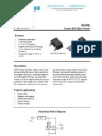 SS49E Hall Sens Datasheet
