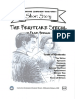 Form 4 - New Literature Component - Fruitcake Special  (MOE Edition)