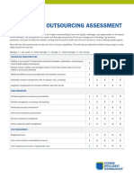 OUTSOURCING ASSESSMENT