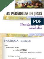 Parábolas de Jesus - Aula 02 - Classificação Das Parábolas