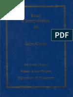Essai D interpretation Coran - masson - arabe francais