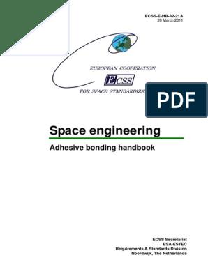 ECSS-E-HB-32-21A pdf | Composite Material | Adhesive