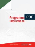 Programme de Vols