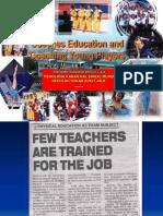 Coaching Education and Coaching Young Players