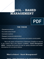 School - Based Management