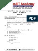 SolutionIITJEE2008-2