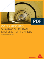HE 00395 Sikaplan Membrane Systems for Tunnels Eng Greek Address