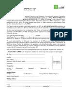 New Application Form - LB