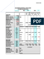 Cost Report Sample