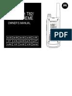 Motorola Talkabout T82.PDF