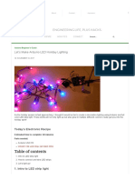 Let's Make Arduino LED Holiday Lighting_1
