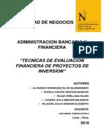 TECNICAS PARA LA EVALUACION FINANCIERA DE PROYECTOS DE INVERSION 3.docx