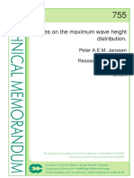 10185 Notes Maximum Wave Height Distribution