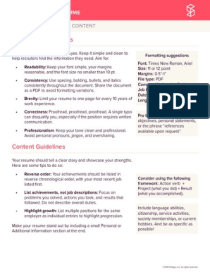 How To Write A Resume Resume Communication
