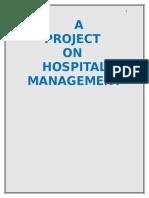 Hospital Management in C Language