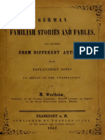 German Familiar Stories and Fables
