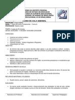 PLANO DE AULA 7ª Série