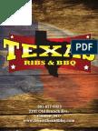 Texas Ribs & BBQ Menu