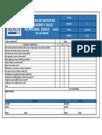 4.- Check List Betonera