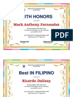 RECOGNITION GRADUATION MOVING UP AWARD CERTIFICATES.docx