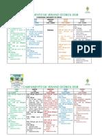 Cronograma de Actividades - Campamento de Verano