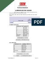 1.3-1 Aluminium and Zinc Anodes