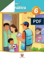 Matemática 6 Cuaderno de Trabajo Para Sexto Grado de Educación Primaria 2019