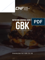 Gourmet Burger Kitchen Survival Guide