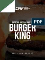 Burger King Survival Guide