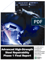 Advanced High- Strength Steel Repairability Phase 1 Final Report