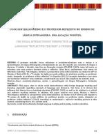 4.Sociointeracionismo e Professor Reflexivo. Thais Cons