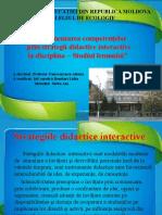 Strategii interactive