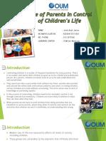 Peranan Ibu Bapa Dalam Kehidupan Anak-Anak