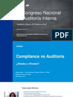 Compliance vs Auditoría ¿Aliados o Rivales