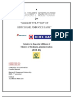 Market Strategy of Hdfc and Icici Bank