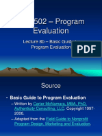 Project Evaluation 2