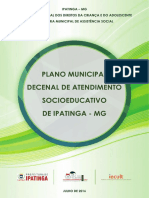 Plano Municipal Decenal de Atendimento Socioeducativo