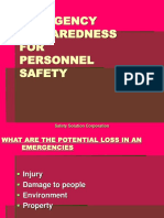 Day 3 Emergency Preparedness For Personnel Safety.ppt