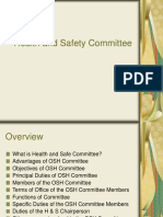 Day 1 Health and Safety Committee.ppt